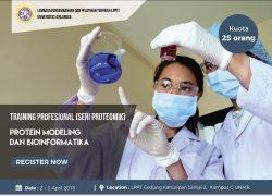 Training Profesional (Seri Proteomik) Protein Modelling dan Bioinformatika