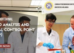 Training Profesional Hazard Analysis and Critical Control Point (HACCP)
